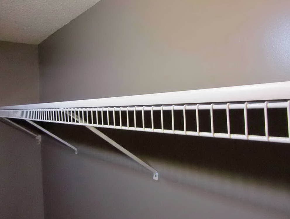 Wire Shelving For Closets Home Depot