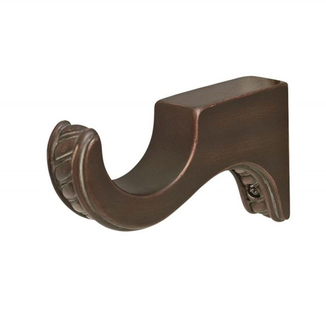 Wooden Curtain Rods And Brackets
