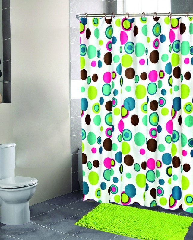 Abright Colorful Shower Curtains