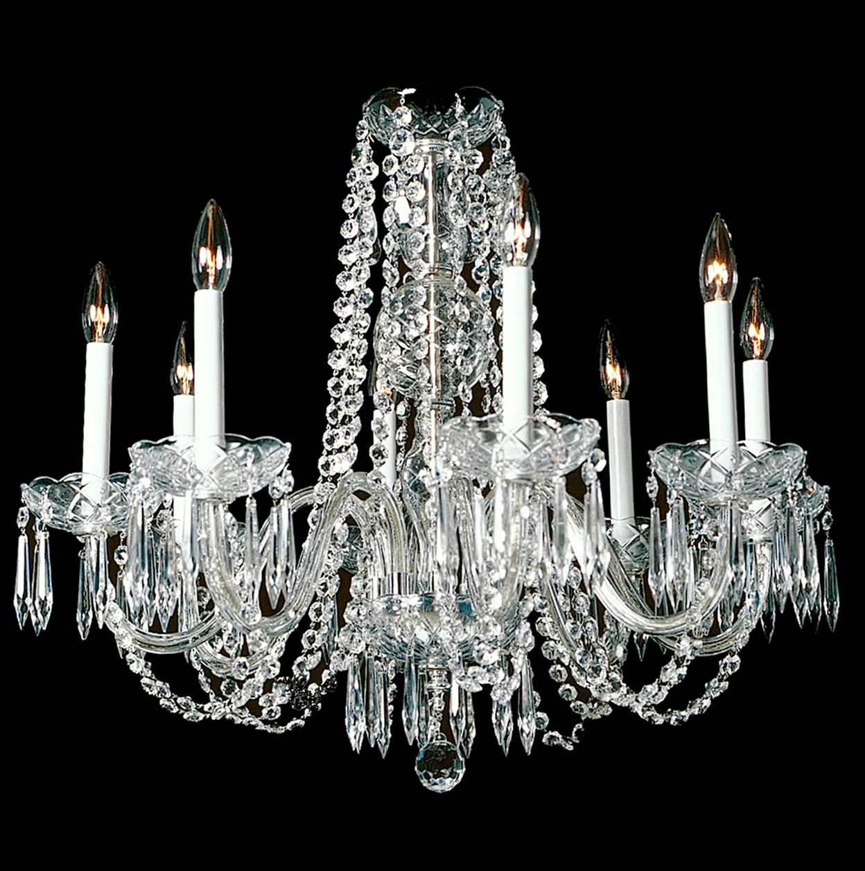 Adele Crystal Large Chandelier