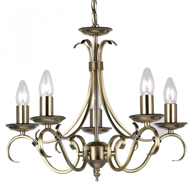 Antique Brass Chandelier Uk
