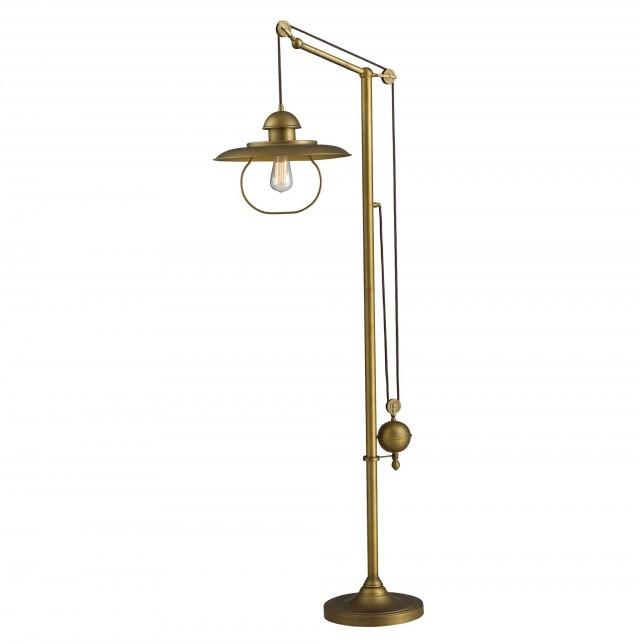 Antique Brass Chandelier Value