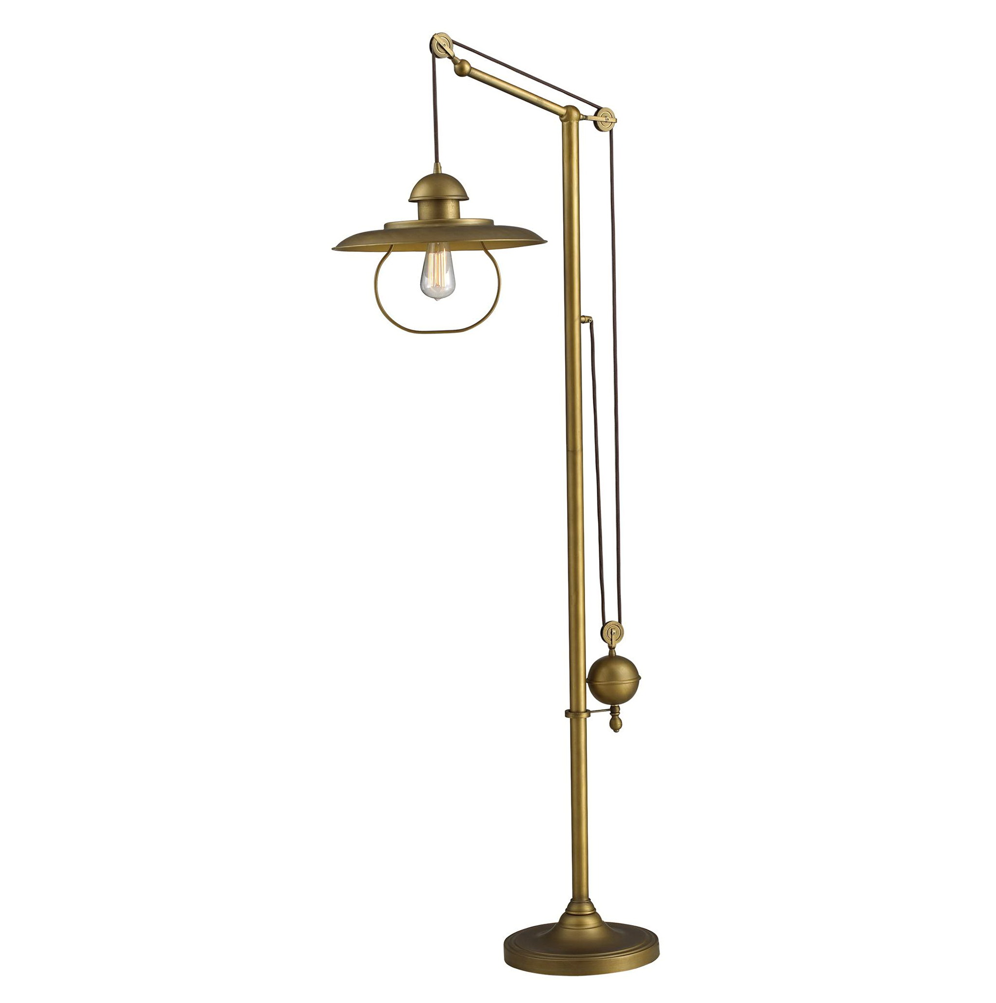 Antique Brass Chandelier Value