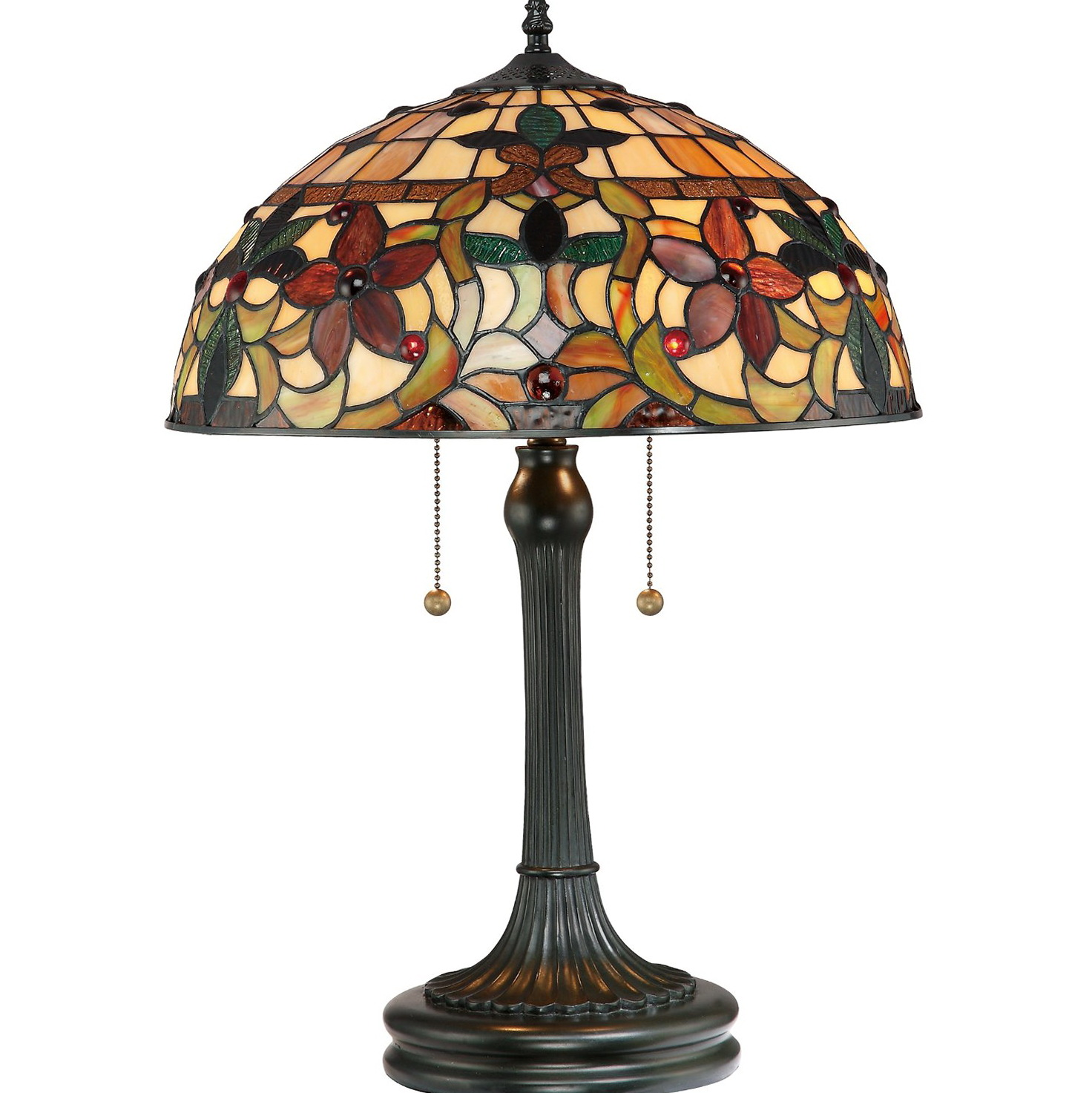Antique Chandelier Table Lamp