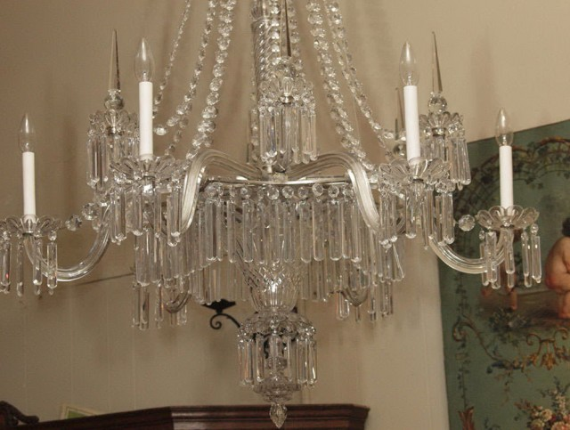 Antique Crystal Chandelier Value