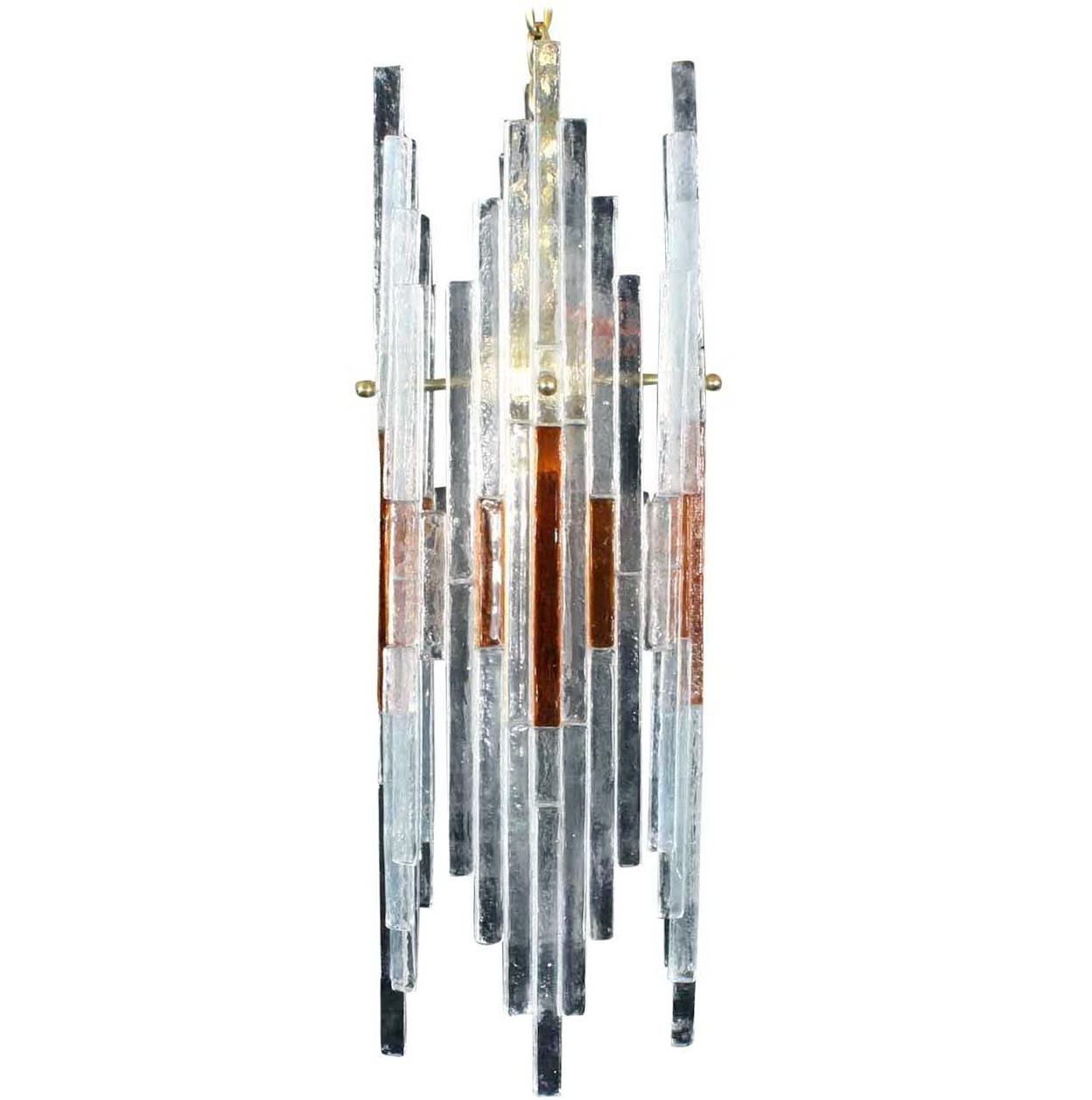 Art Glass Chandelier Modern