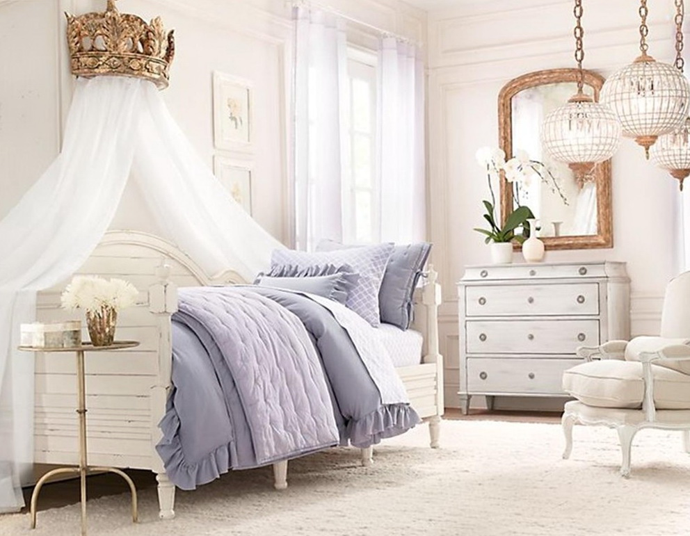 Bed With Curtains For Girls