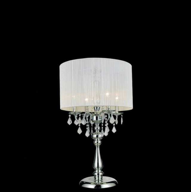 Black Chandelier Floor Lamp