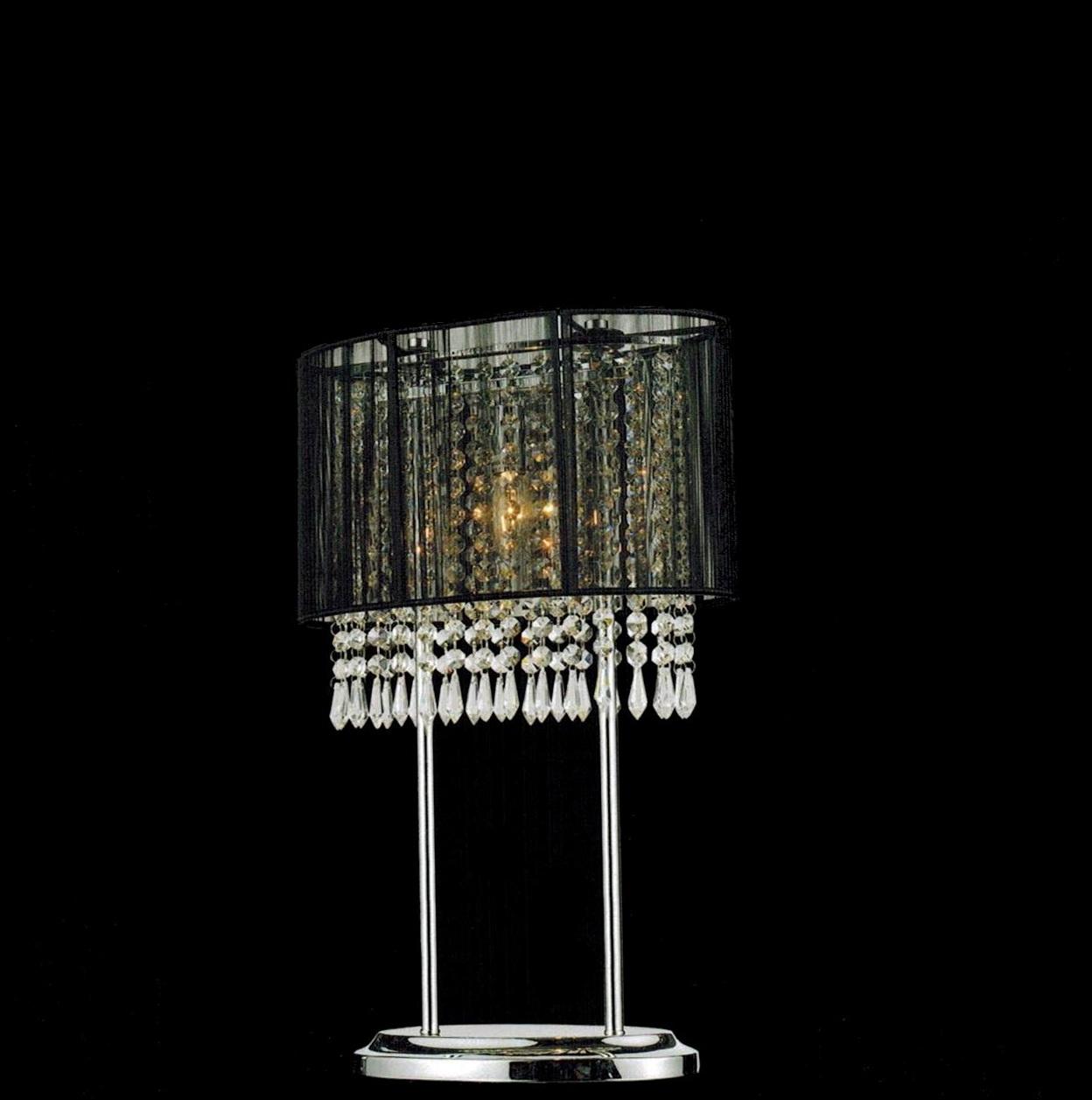 Black Chandelier Table Lamps