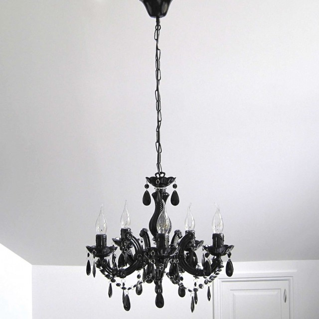 Black Crystal Chandeliers On Sale