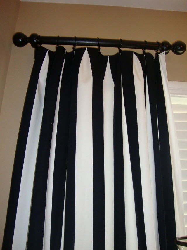 Black N White Shower Curtains
