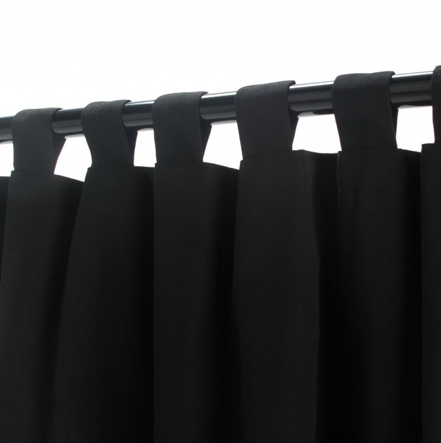 Black Velvet Curtains 108