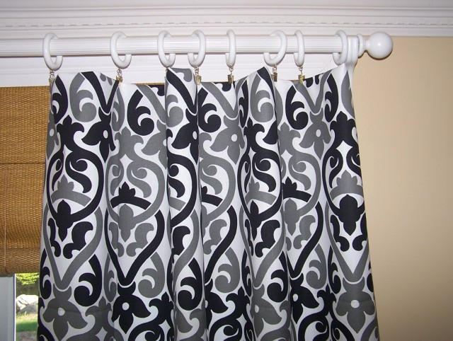 Black White And Gray Curtains