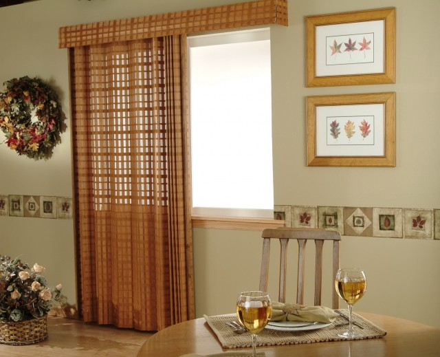 Blinds And Curtains For Patio Doors