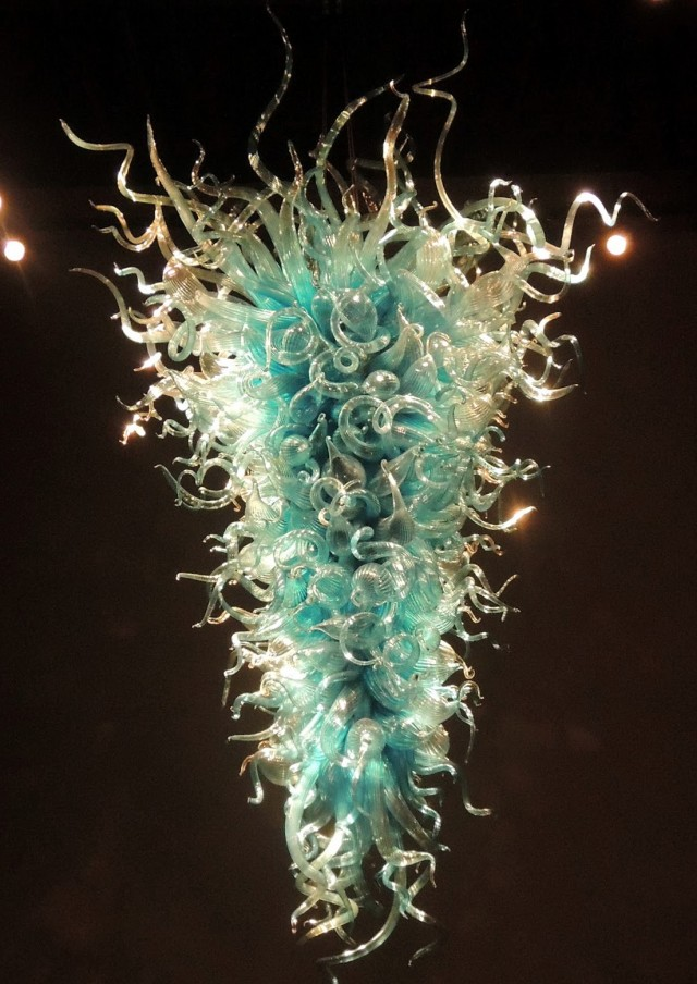 Blown Glass Chandelier Seattle