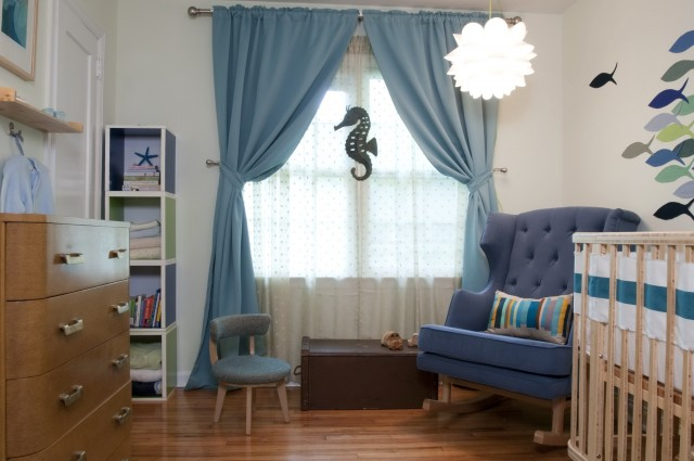 Blue Velvet Curtains Target