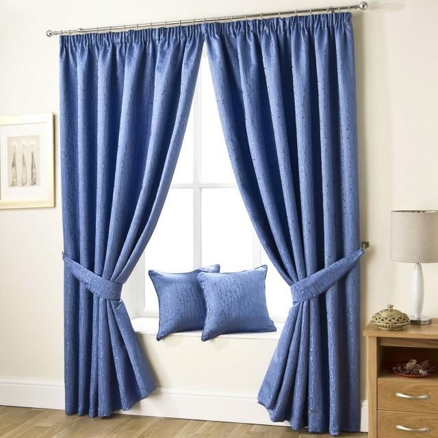 Blue Velvet Curtains Uk