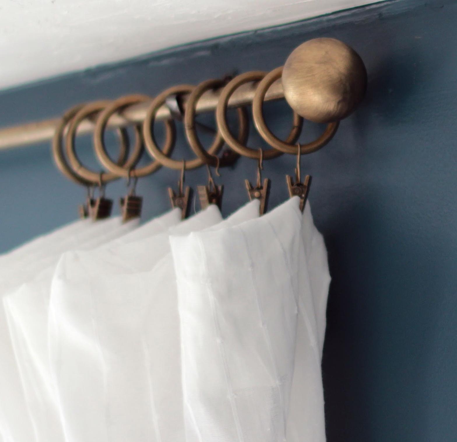 Brass Curtain Rods Target