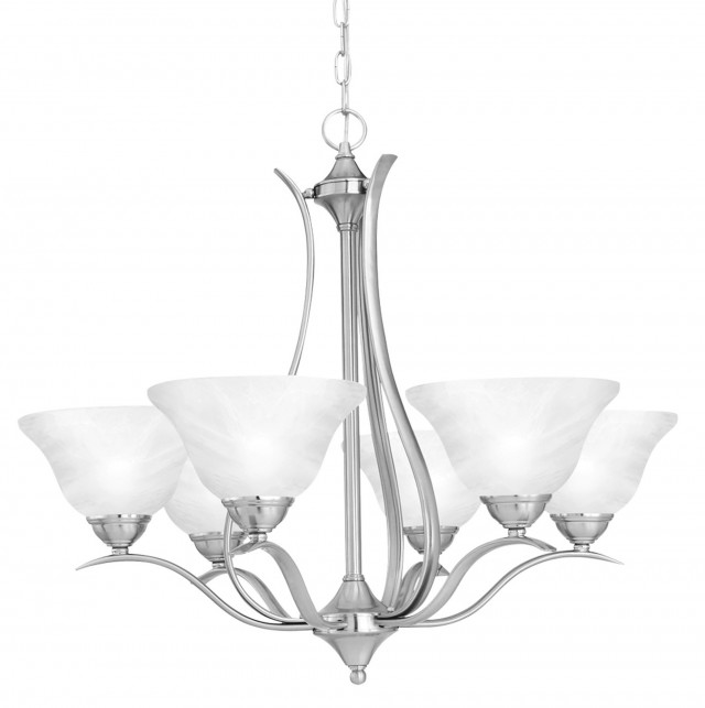 Brushed Nickel Chandelier Lighting