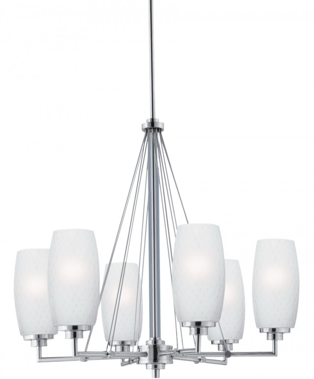 Brushed Nickel Chandelier Modern