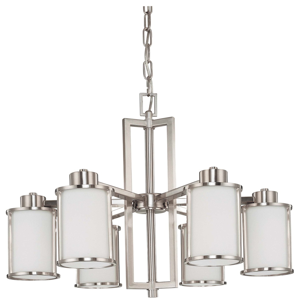 Brushed Nickel Kitchen Chandeliers
