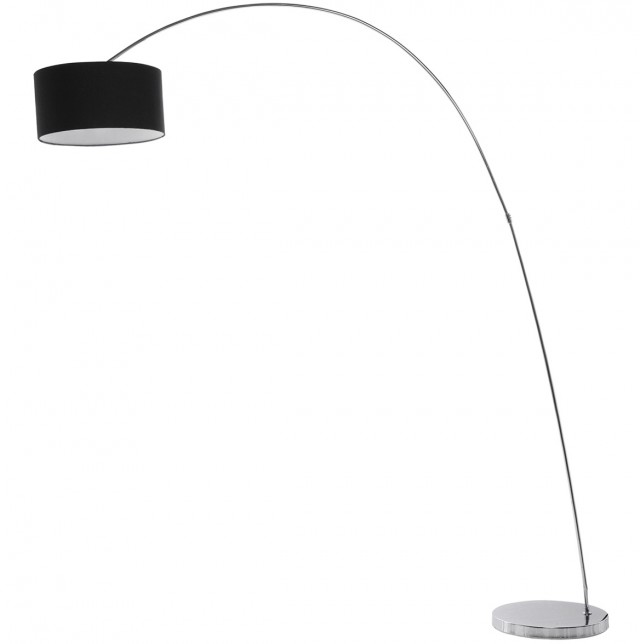 Chandelier Floor Lamp Black