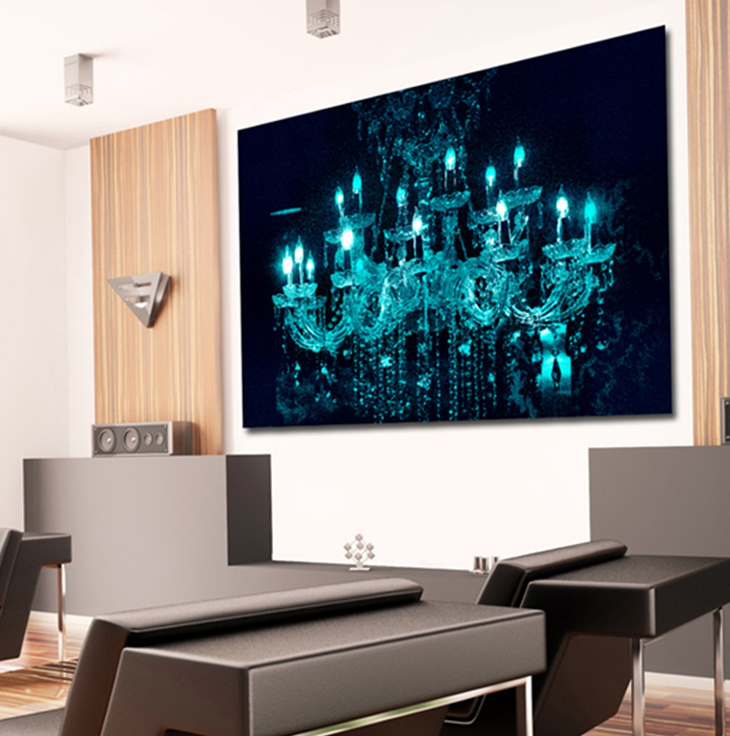 Chandelier Wall Art Canvas
