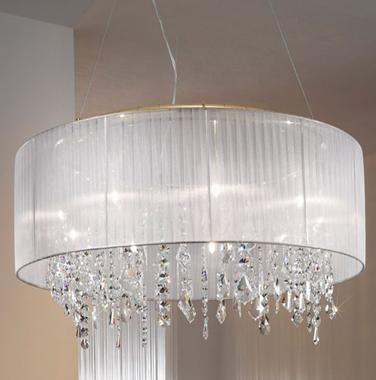 Chandelier With Shades Uk