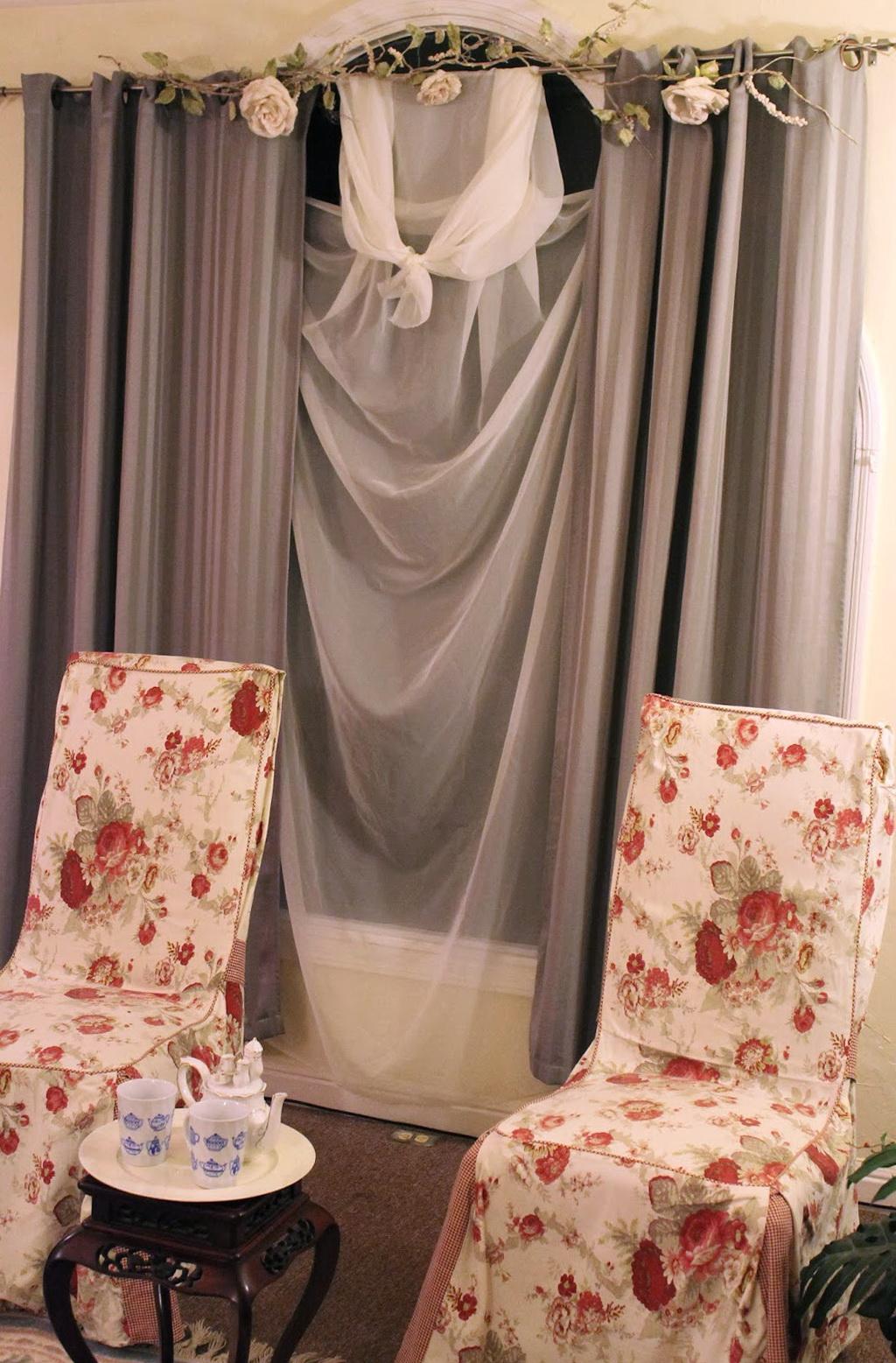 Cobalt Blue Sheer Curtains