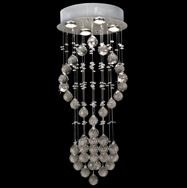 Contemporary Lighting Crystal Chandeliers