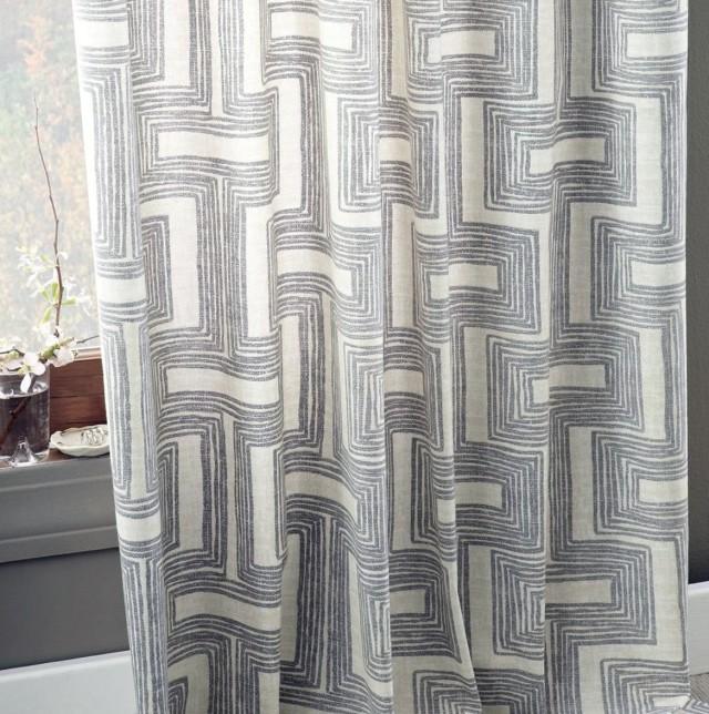 Cotton Canvas Shower Curtain