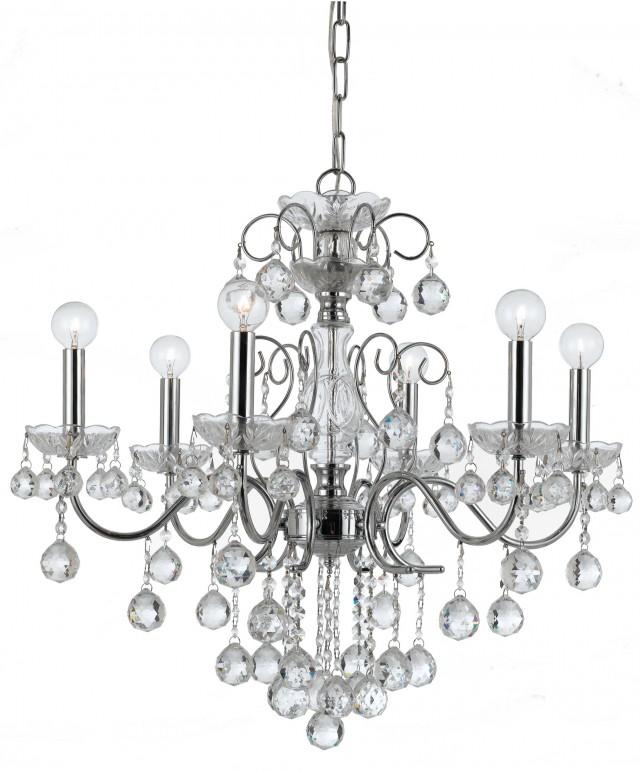 Crystal Ball Chandelier Divine Design