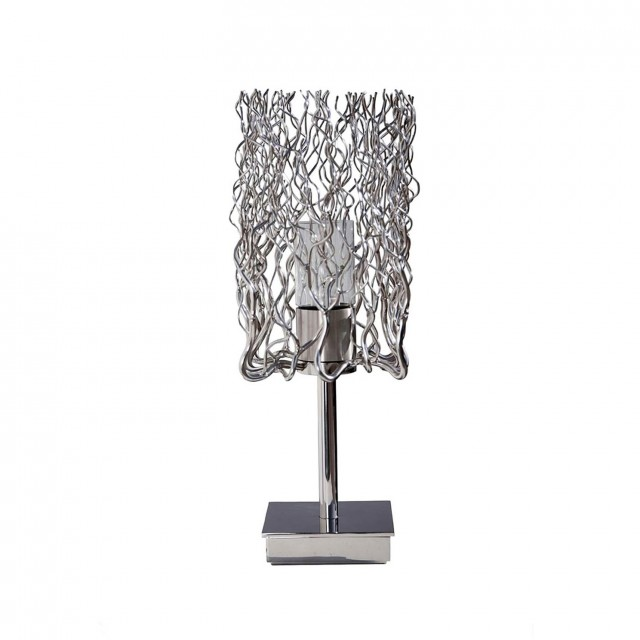 Crystal Chandelier Table Lamp