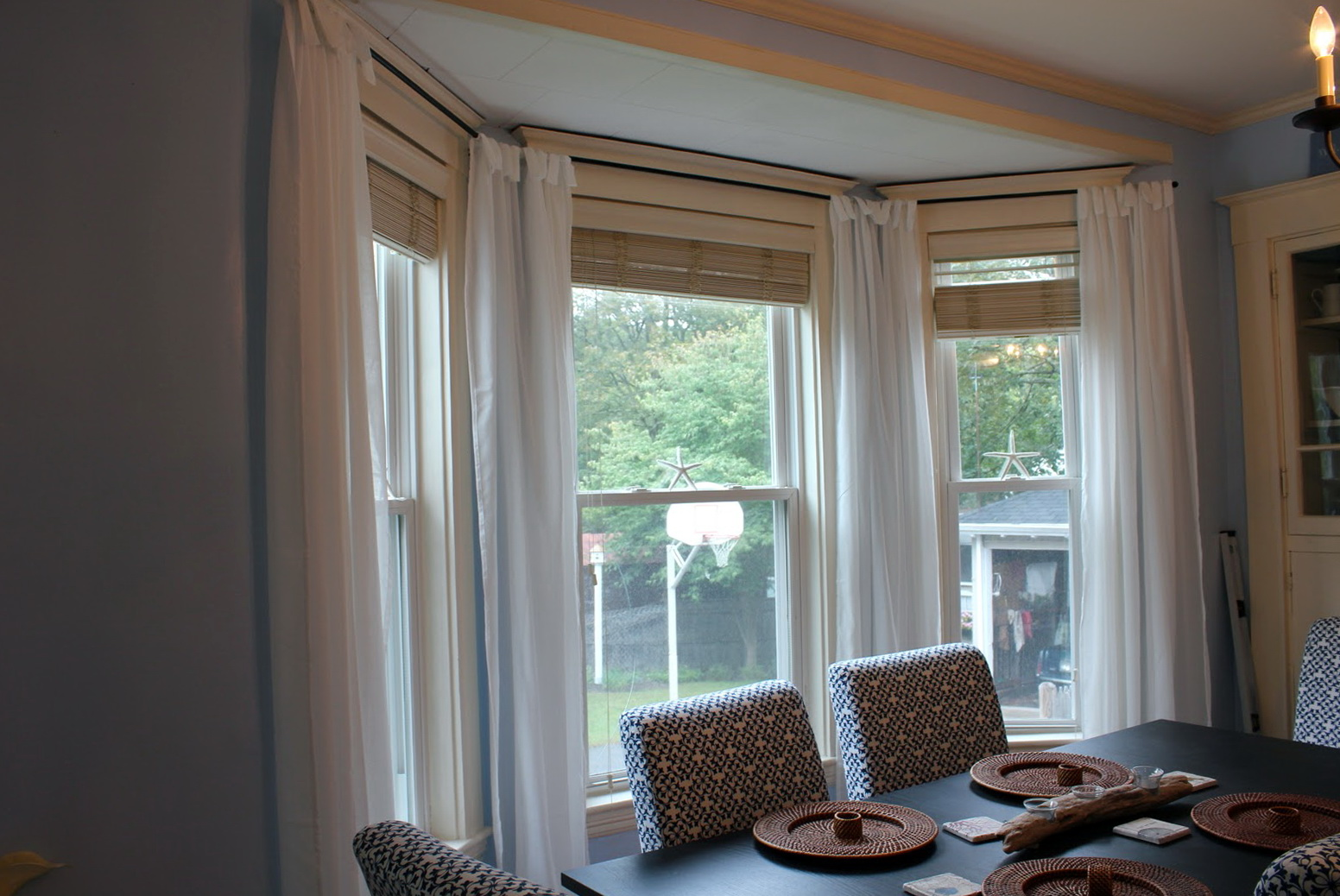 Curtain Rod For Bay Window Canada