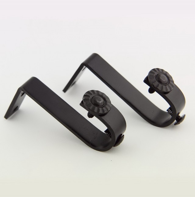 Curtain Rod Hardware Brackets