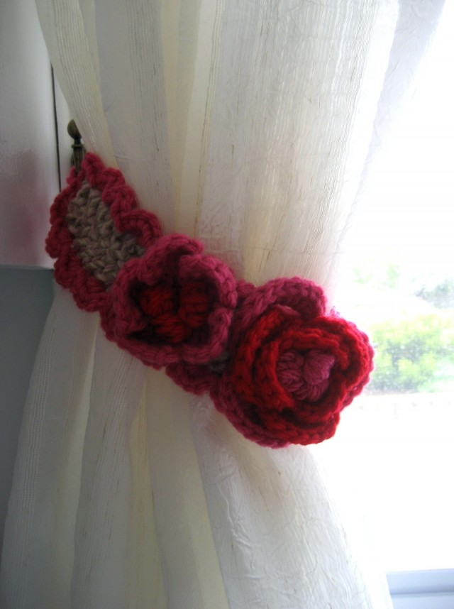Curtain Tie Back Pattern