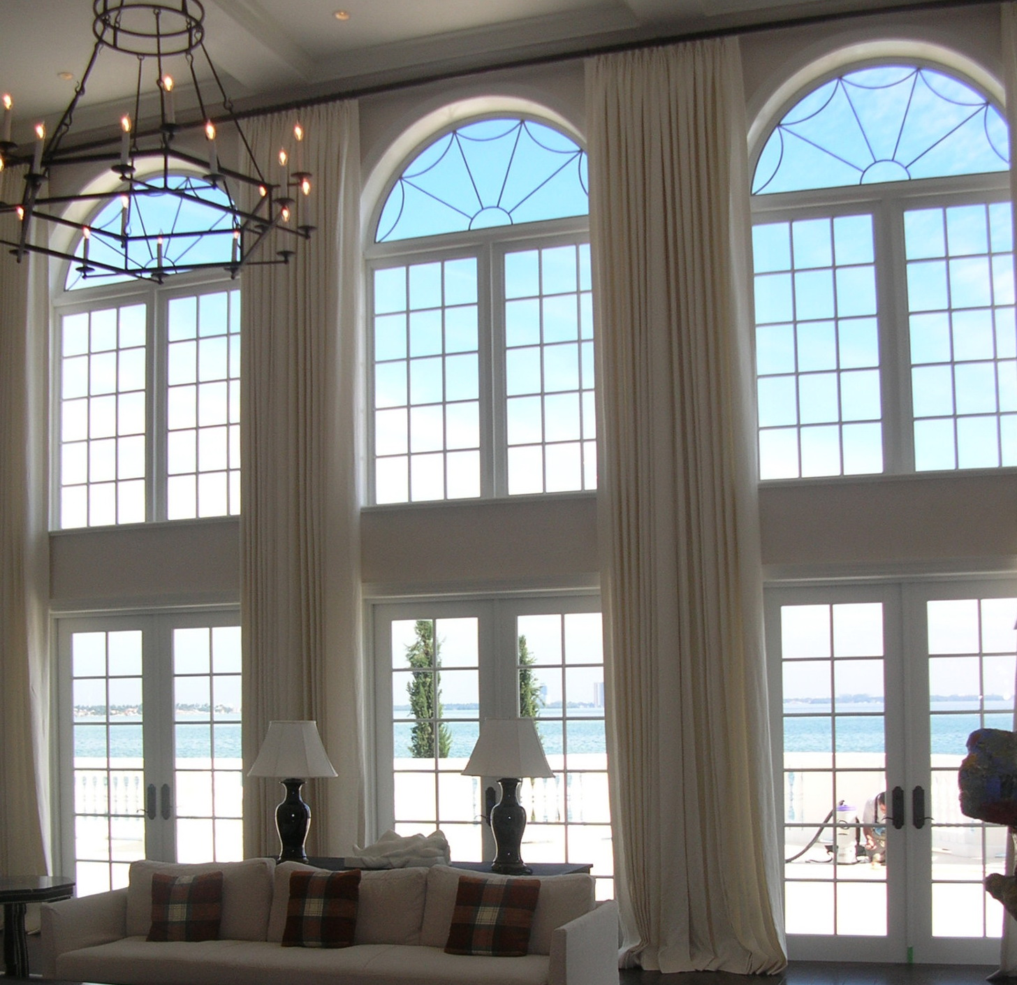 Curtains For High Arched Windows
