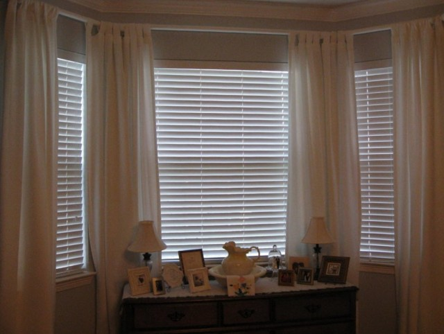 Custom Curtain Rods Bay Window