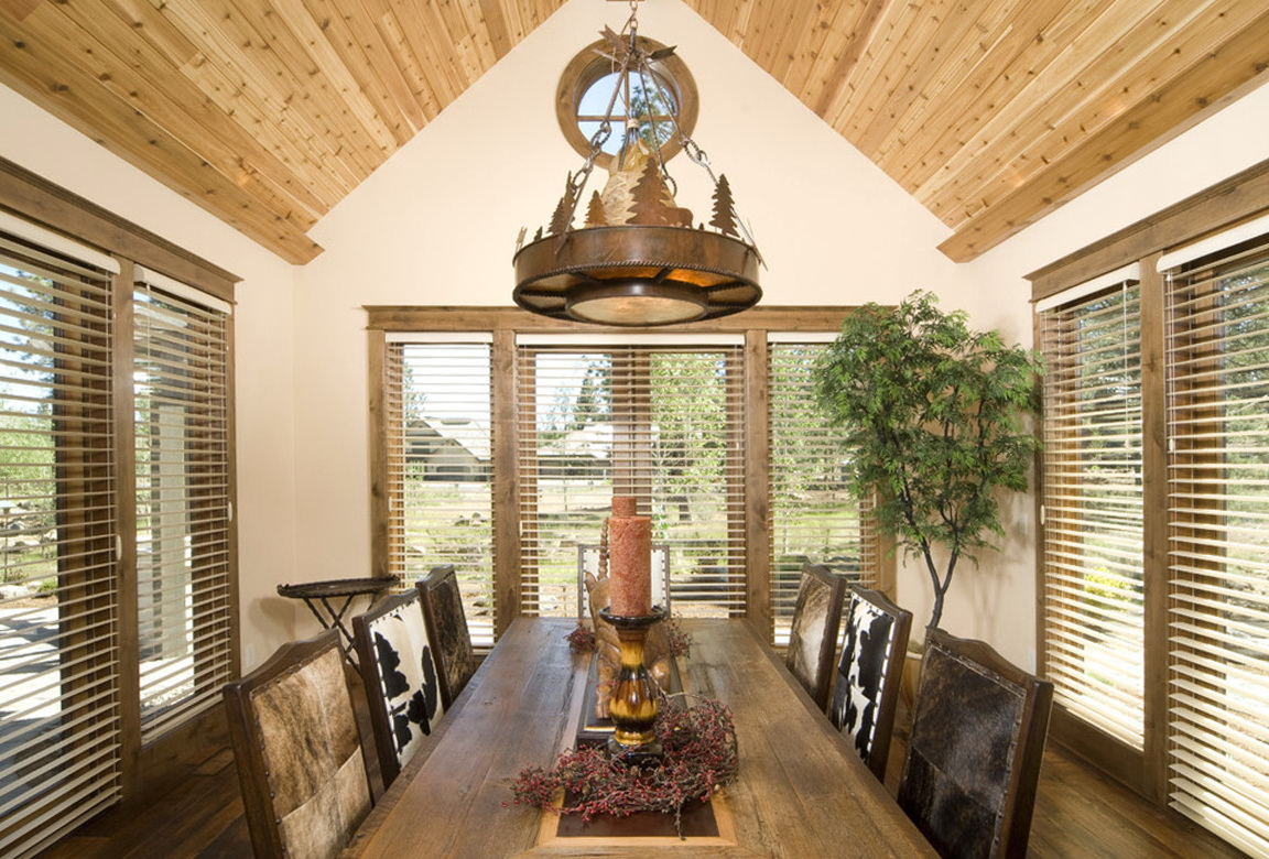 Dining Room Chandeliers Rustic