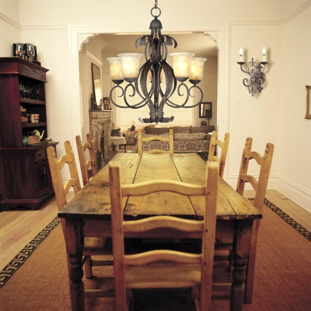 Dining Table Chandelier Height