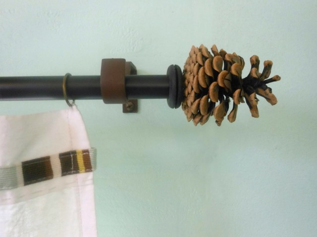 Diy Finials For Curtain Rods