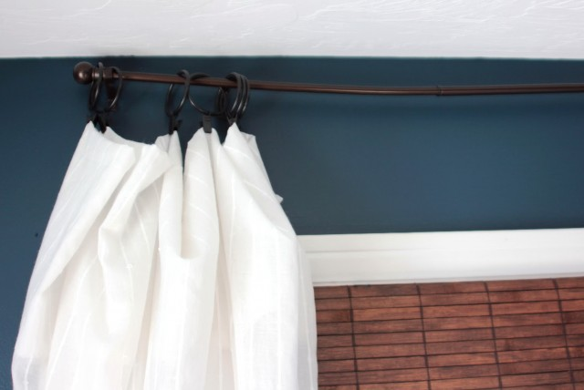 Diy Long Curtain Rod