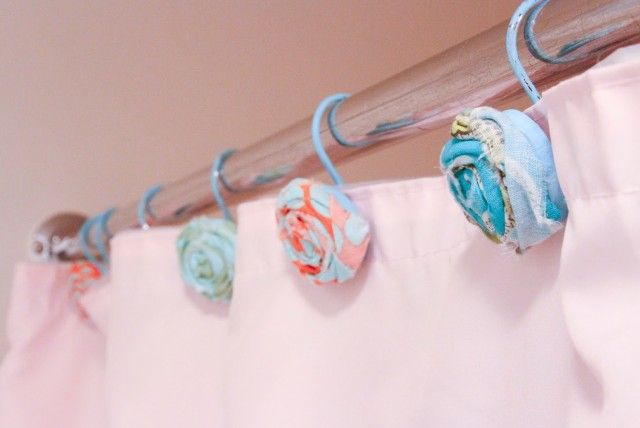 Diy Shower Curtain Hooks