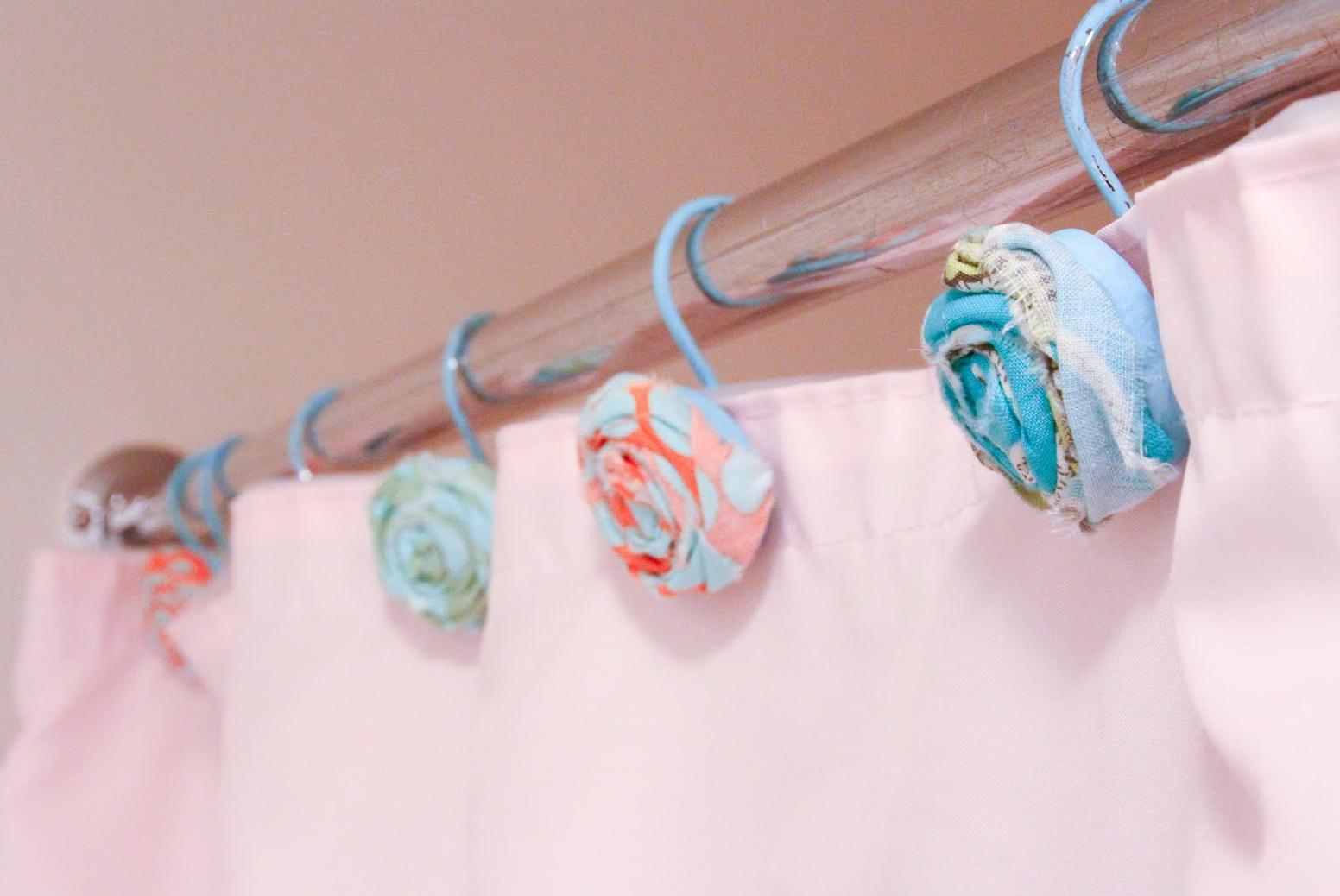 Diy Shower Curtain Hooks