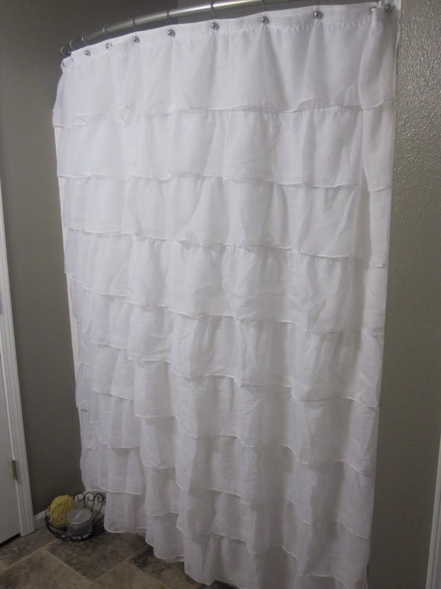 Diy Shower Curtain Valance
