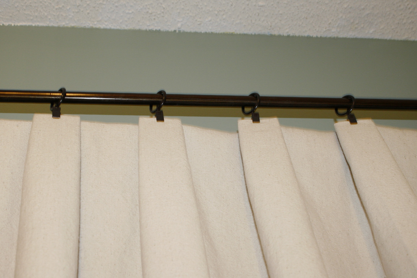 Drop Cloth Curtains With Grommets