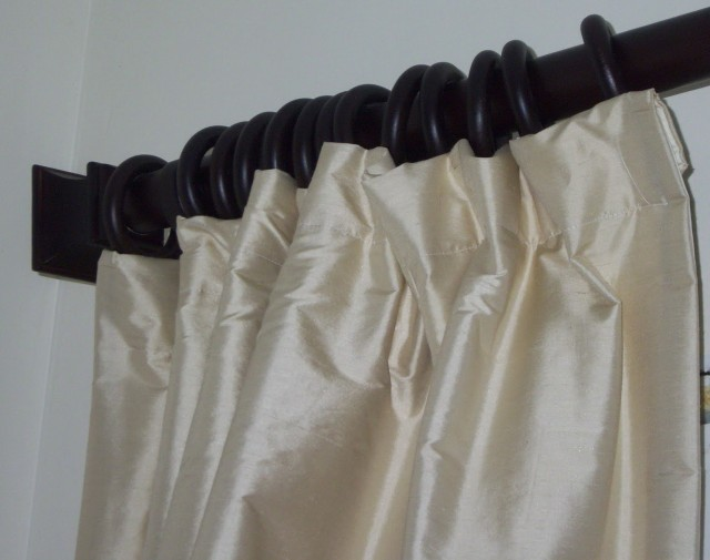 Dupioni Silk Curtains Pottery Barn