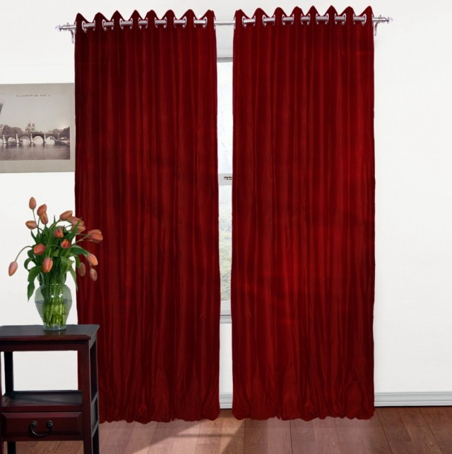 Dupioni Silk Curtains Sale