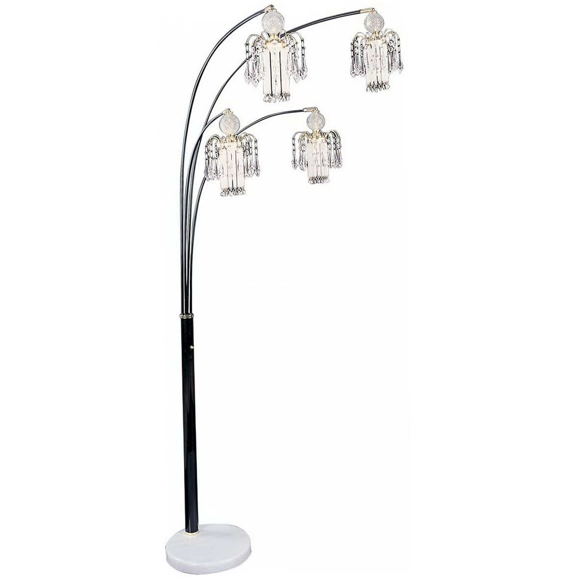 Floor Lamp Chandelier Style