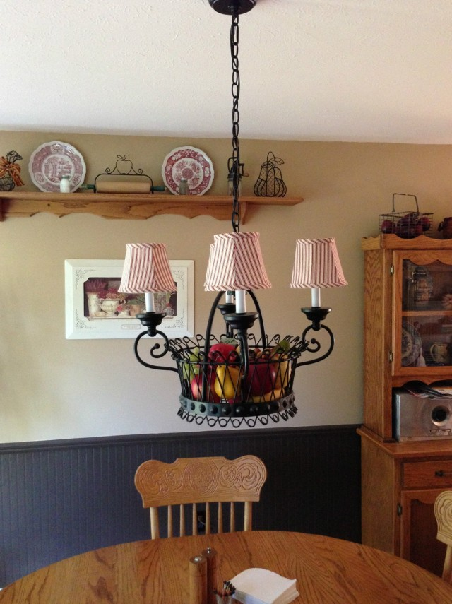 French Country Chandelier Shades